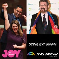 Black Rainbow Micro Grants, what's going on in the Senate & advancing equality with Senator Derryn Hinch : 28th November 2017
