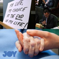 Voluntary Assisted Dying; control, chaos or choice? : 31st October 2017