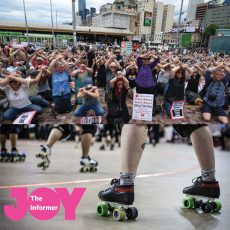 What makes Roller Derby a safe space for trans people & protesting Manus, are we doing enough? : 27th November 2017