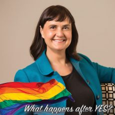 What happens after YES? Community Forum : Carolyn Evans