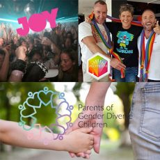 Gold Coast Pride House, Parents of Gender Diverse Children SA & protecting yourself while partying