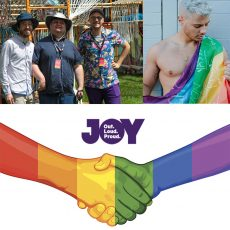 Mr Gay Pride Australia 2018, Inclusivity with interactive art & how can Lesbian & Gays be better allies to Bi, Trans & Intersex? : 15th January 2018