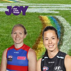 'What it means to me' – AFLW Pride Match with Astra O'Connor & Sophie Li