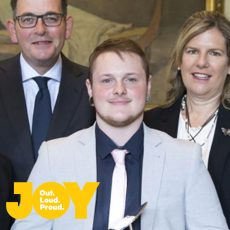 Riley Briese named Volunteer of the year for his work supporting young transgender people in regional Victoria