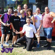 JOY & SBS live at the Sydney Gay and Lesbian Mardi Gras Parade
