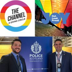 Less than 1% of Australia's grant-making charities have supported LGBTI communities, and building greater pathways in QLD Police Force to help combat Domestic Violence in our communities: 20th March 2018