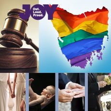 Homosexual & Cross Dressing Offences can now be expunged in Tas & there's still time to have your say on LGBTI Births, Death & Marriages in QLD: 10th April 2018