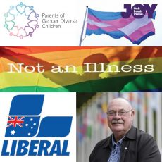 Conversion Therapy in Australia – Personally, Politically & Culturally : 16th April 2018