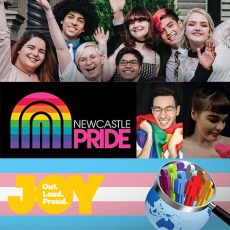 Newcastle Pride, LUSH stands with Pride for Minus18 Queer Formal & how to collect strong engaging data on marginalized & diverse communities : 19th April 2018