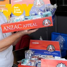 Supporting the Anzac Appeal