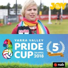 Equality on the field comes in all shapes & sizes with Emily Rowe -Yarra Valley Pride Cup