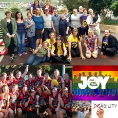 Support the Intersex Community with the Darlington Statement, INTERSECTIONALITY LGBTIQA/CALD/DISABILITIES with Margherita Coppilino & 5 years of Pride with Yarra Valley Pride Cup : 30th April 2018