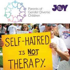 Conversion Therapy shouldn't even be an option in todays day and age, with PGDC