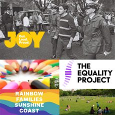 Looking back: 21 years since Tas decriminalised homosexuality, National Leadership Training with The Equality Project & Rainbow Families Sunshine Coast launches: 1st May 2018