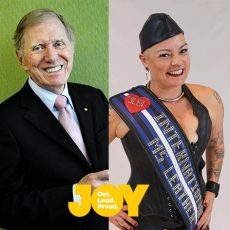 What's next for LGBTIQ Equality with Hon. Michael Kirby & Congratulations Girl Ange IMsL 2108 : 2nd May 2018