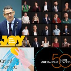 Chief Minister Michael Gunner's moving apology in NT Parliament for past gay convictions & Australia's Outstanding 50 LGBTI Leaders : 8th May 2018