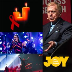 We need to do more than just remember the past with Michael Kirby, the 35th International AIDS Candlelight Memorial & LGBTI pride at Eurovision : 14th May 2018