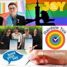 Advocating Australia Wide with Rainbow Families, Law  outside the binary & the importance of the Rainbow Tick with CarersQLD : 23rd May 2018