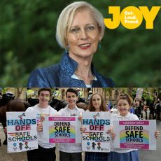 Is it too late to say you're sorry about Safe Schools Catherine McGregor?