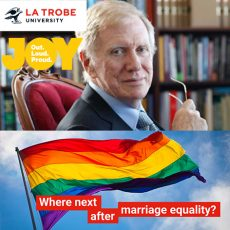 Where next after Marriage Equality? The Hon. Michael Kirby