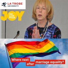 Where next after Marriage Equality?  Brenda Appleton