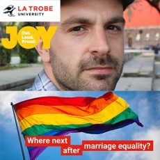 Where next after Marriage Equality? Adam Bourne