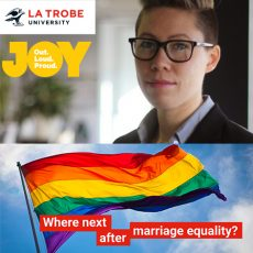 Where next after Marriage Equality?  Lee Carnie