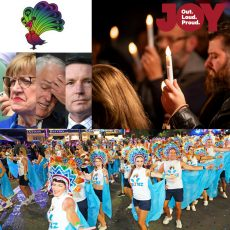ANZ & SGLMG announce national LGBTI community grants, The GLORIA's 2018 & hear from the past, present & future at Melbourne's AIDS Candlelight Vigil : 21st May 2018