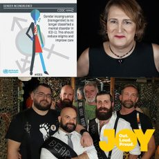 New classifications by the World Health Organisation removes transgender as a mental illness, plus what makes a bear with the competitors of Mr Australasia Bear : 19th June 2018