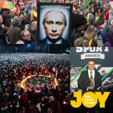 10,000 people standing in silence, QLDs Jeremy Archer – Out Role Model Award & Looking past our boarders to Russia : 20th June 2018