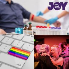Why the Coming Back Out Ball & supporting our LGBTI Elders matters, the Outstanding LGBTI Short Story Competition & what is it like participating in clinical trials to find a cure for HIV?: 26th June 2018