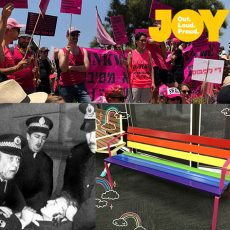 Tel Aviv Pride, Protests past Mardi Gras in 1978 & nominate someone for a Rainbow Seat : 27th June 2018