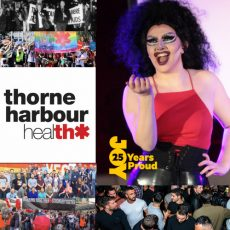 VAC Rebrands to Thorne Harbour Health & How inclusive and safe do gay men really make queer spaces for women : 9th July 2018