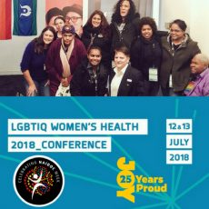 Because of her, we can! Reflections on the opening day of the 2018 LGBTIQ Women's Conference during NAIDOC Week