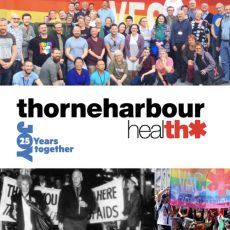 VAC celebrates 35th Anniversary with a rebrand to Thorne Harbour Health