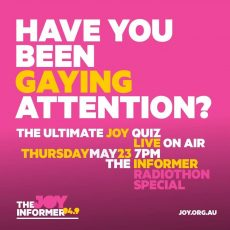 Radiothon 2019 – Have you been gaying attention?!?