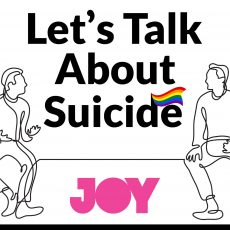 Let's Talk About Suicide – a new podcast