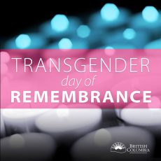 Transgender Day of Remembrance vigil: stories, songs and voices
