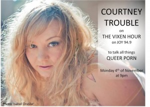 Courtney Trouble and Question Time