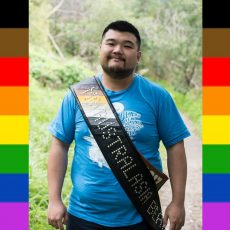 Mr Australasia Bear 2017, Morro Qui & Fun with Flags