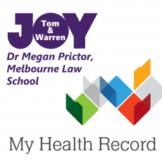 Dr Megan Prictor – MyHealth Record Privacy