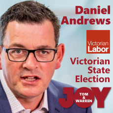 Premier Daniel Andrews – Victorian State Election