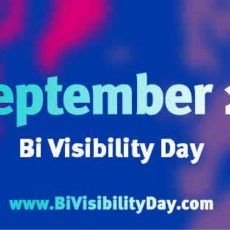 Introducing Bi Visibility Month!