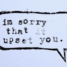 The Art of Apology, With Alex Xand!
