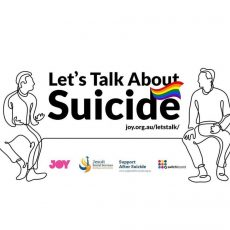 Switchboard Victoria, and Suicide prevention in Queer Community