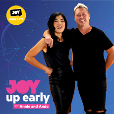Friday November 20 – Up Early with Annie and Ando
