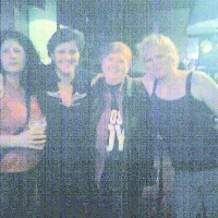Anita with the Bluehouse gals