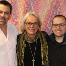 From left: Dean Beck, Nicole Conner, Nathan Despott.  Photo by Betty Sujecki