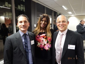 Geoffrey Smith, Marcia Hines and Gary Singer