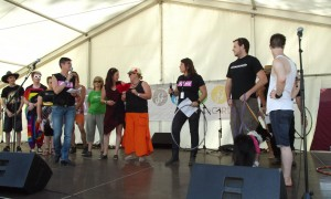 JOY live, loud and on stage from ChillOut Festival 2013